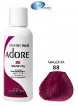Adore: Semi Permanent Hair Colour - Magenta [88] 4oz