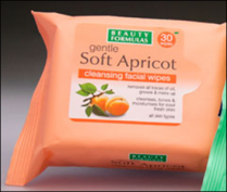 Beauty Formulas Soft Apricot Cleansing Facial Wipes 30's