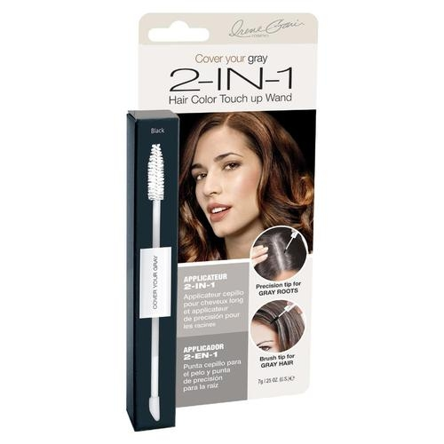 Irene Gari: Cover Your Gray 2 in 1 Touch up Wand - Black