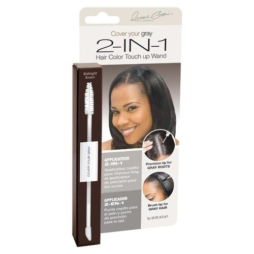 Irene Gari: Cover Your Gray 2 in 1 Touch up Wand - Dark Brown