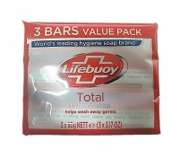 Lifebuoy: Total HYGIENE Soap 3's (Red) 90g